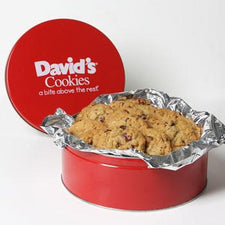 David's Cookies Orange Oatmeal Cranberry 2lb Tin