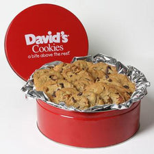 David's Cookies Pecan Chocolate Chunk 2lb Tin