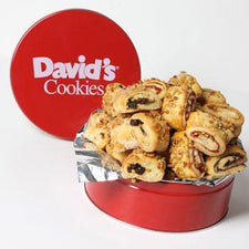 David's Cookies Rugelach 1lb Tin