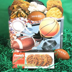 David's Cookies Sports Basket