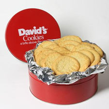 David's Cookies Sugar Cookies 2lb Tin