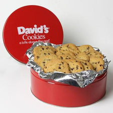 David's Cookies Sugar Free Chocolate Chip Cookies 2lb Tin