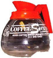 Orange Coffee Decanter
