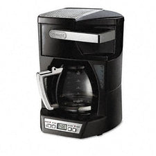 Delonghi Stainless Steel Black 12-Cup Programmable Coffee Maker