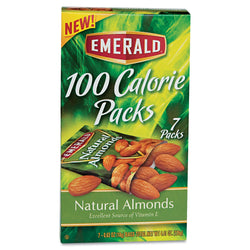 Emerald 100 Calorie Pack All Natural Almonds 84ct