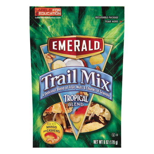 Emerald Trail Mix Tropical Blend 6ct
