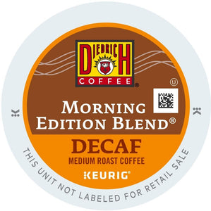 Diedrich Coffee Morning Edition Blend Decaf K-Cups 24ct