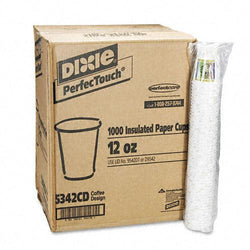 Dixie 12oz Hot Drink Paper Cups 1000ct