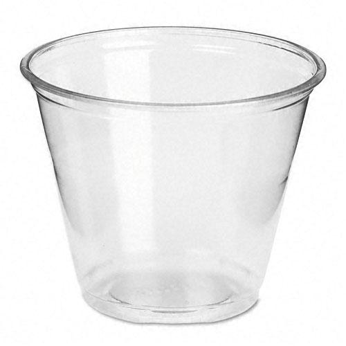 Dixie 9oz Clear Plastic Cups 1000ct