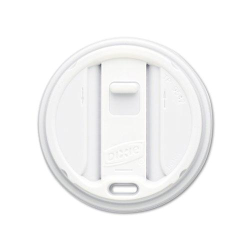 Dixie Reclosable Lids for 12oz & 16oz Hot Drink Cups 1000ct Case