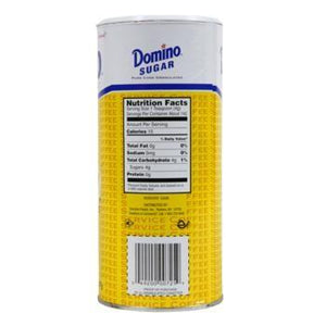 Domino Sugar Canisters Bulk 24ct Back
