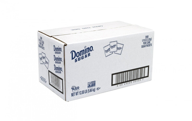 Domino Sugar Packets 2000ct