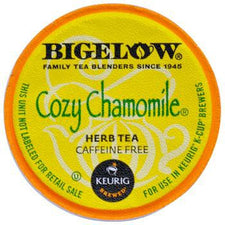 Bigelow Cozy Chamomile Tea Kcups 24ct