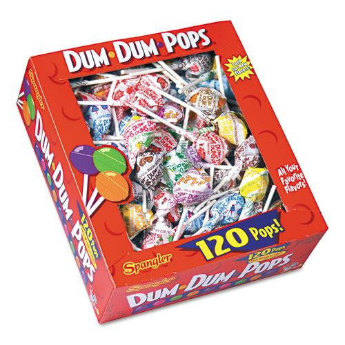 Dum Dum Pops Assorted Flavors 120ct Box