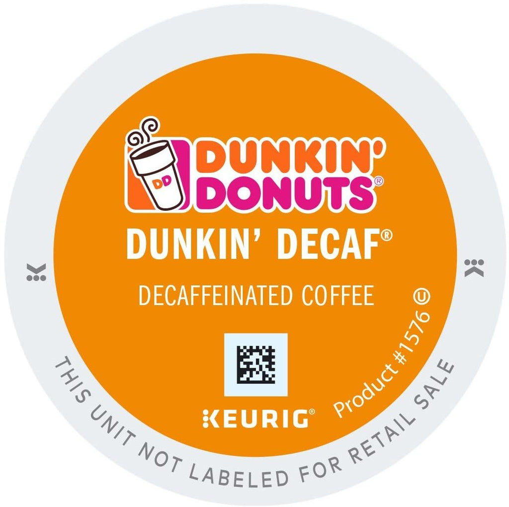 Dunkin Donuts Decaf Original K Cup Pods 96ct Dunkin Coffee