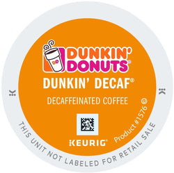 Dunkin' Donuts DECAF Original K-cups 96ct