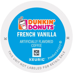 Dunkin' Donuts French Vanilla K-cups 24ct