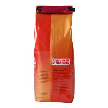 Dunkin Donuts Original Blend 12oz Ground Bag Back