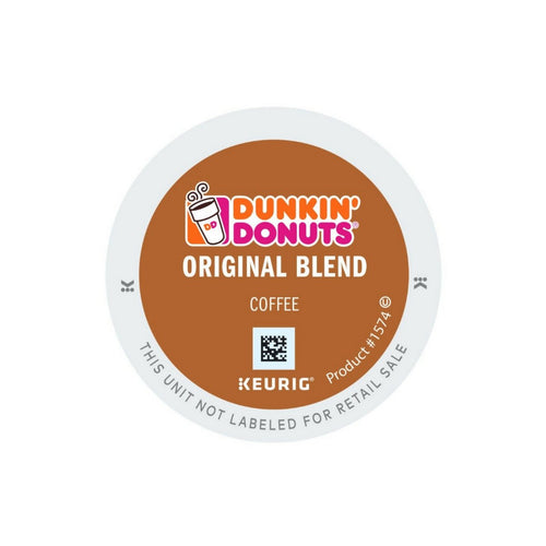 Dunkin Donuts Original K-cup Pods 24ct - Short Dated
