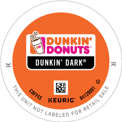 Dunkin' Donuts Dark Roast K-cup Pods 96ct