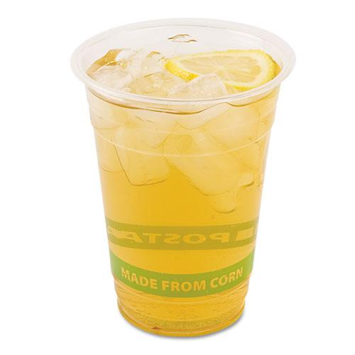 Eco-Products 16oz Compostable Corn Clear Plastic Cups 1000ct