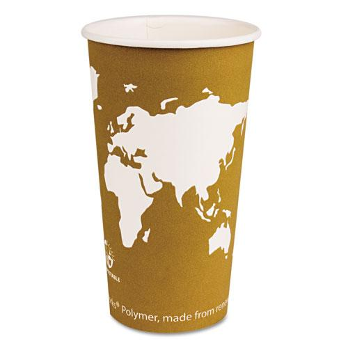 Eco-Products 20oz Hot Paper Cups with Compostable PLA Plastic 1000ct
