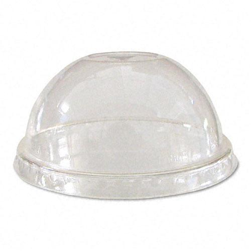 Eco-Products Clear Dome Lids for Corn Clear Plastic Cups 1000ct