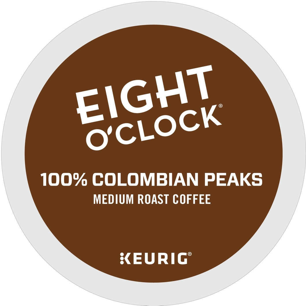Eight O'Clock Coffee Colombian Peaks K-Cups 96ct Box