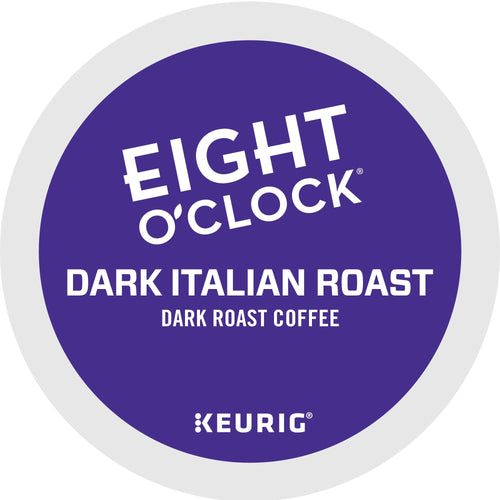 Eight O'Clock Coffee Dark Italian K-Cups 24ct Box