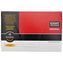 Eight O'Clock Coffee Original K-Cups 12ct Box left side