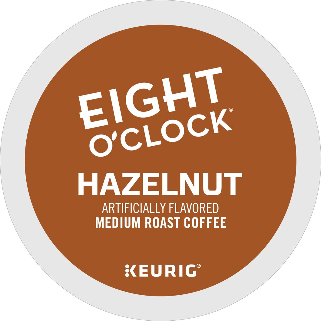 Eight O'Clock Coffee Hazelnut K-cups 24ct