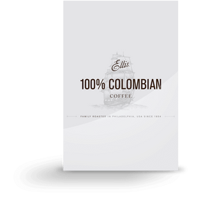 Ellis 100% Colombian Ground Coffee 128 2oz Bags