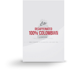 Ellis 100% Colombian Decaffeinated Ground Coffee 96 2oz Bags