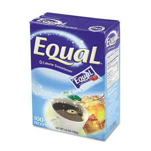 Equal Single-Serve NutraSweet Packets 100ct