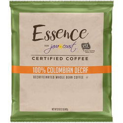 Essence 100% Colombian Decaf Coffee Beans 2lb Bag