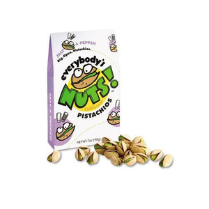 Everybody's Nuts California Salt & Pepper Pistachios 48 1.5oz Bags