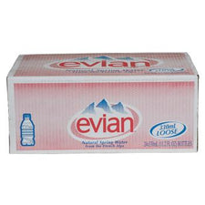 Evian Spring Water 24 11.2oz Bottles