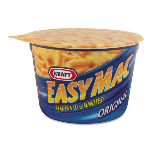 Kraft Easy Mac Macaroni & Cheese Microwave Cups 10ct