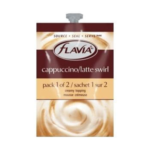 Flavia Cappuccino Latte Swirl Fresh Packs 20ct 1 Rail