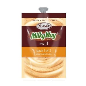 Flavia Milkyway Swirl Fresh Packs 18ct 1 Rail