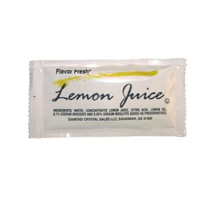 Flavor Fresh Liquid Lemon Packets 200ct