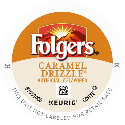 Folgers Caramel Drizzle K-Cups 24ct Box