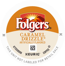 Folgers Caramel Drizzle K-Cups 96ct Box
