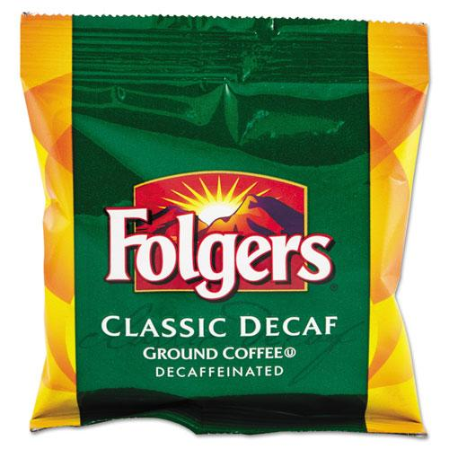 Folgers Coffee Classic Decaffeinated Ground Coffee 42 1.5oz Bags