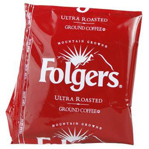 Folgers Coffee Ultra Ground Coffee 150 1.05oz Bags Back