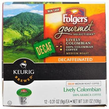 Folgers Lively Colombian Decaf K-Cup® Pods 12ct