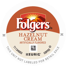 Folgers Hazelnut Cream K-Cup Pods 24ct