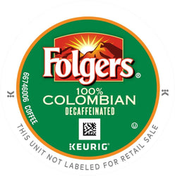 Folgers Lively Colombian Decaf K-Cup® Pods 24ct