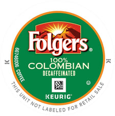 Folgers Lively Colombian Decaf K-Cups 24ct Box