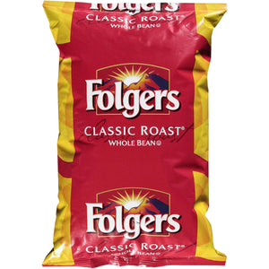 Folgers Original Whole Bean Coffee 2.75lb Bag - Past Peak